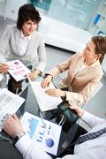Business group working together in office Stock Photos