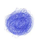 hand drawn element - stock photo