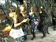 KENYA tribal dance Stock Footage