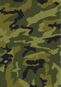 Camouflage classic pattern Stock Illustration