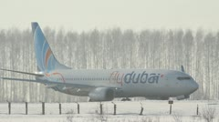 Boeing 737-800, Flydubai Stock Footage