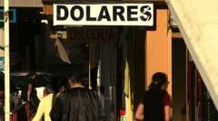 US dolares Stock Footage
