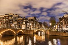 Amsterdam Canal Stock Photos