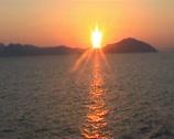 Sea sunset 1 Stock Footage