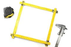 engineering-themed frame - stock photo