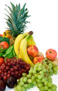 fruits and some veggies - stock photo