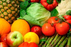 Produce close-up Stock Photos