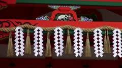 Fushimi Inari Shimenawa Stock Footage