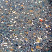 texture of wet colorful mineral - stock photo