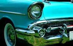 vintage automobile - stock photo