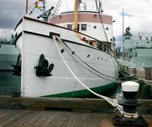 nice boat - stock photo