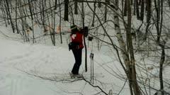 Ski Patrol Stock Footage