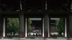 Tofukuji Main Gate Stock Footage