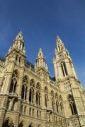 Vienna Rathaus Stock Photos
