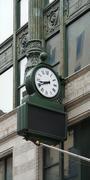 Stock Photo of nostalgic clock in boston