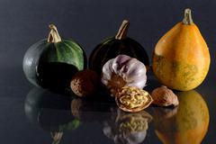 Autumn tastes Stock Photos