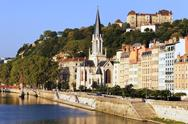 Stock Photo of part of the city of lyon