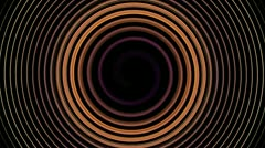 Colorful hypnotic motion backgrounds, circular loops, hd 1080p Stock Footage