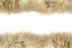 Fluffy wool texture Stock Photos
