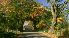 Indian Summer in Mecklenburg - Northern Germany Stock Footage