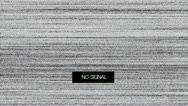 Stock Video Footage of TV Noise 07 crazy
