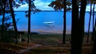 Float Plane PreFlight Water Front Stock Footage