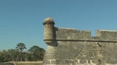 Castillo de San Marcos Clip 4 Stock Footage