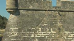 Castillo de San Marcos Clip 1 Stock Footage