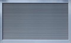 Modern metal ventillation grid Stock Photos