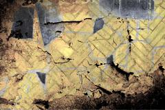 Abstract the old grunge wall for background Stock Photos