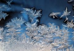 frosty pattern - stock photo