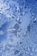 Frosty pattern Stock Photos