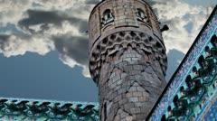 minaret - stock footage