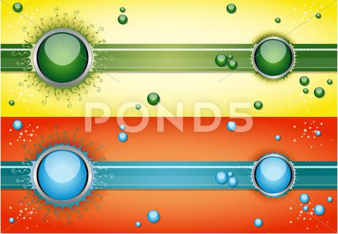Stock Illustration of vector illustration with bubbles.