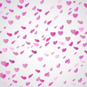 Valentine's day seamless Stock Illustration