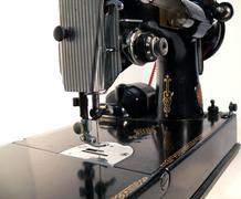 Isolated sewing machine Stock Photos