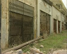 Green line, buffer zone, Nicosia, Cyprus with UN Stock Footage