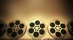 Film rolling loopable animation. Stock Footage