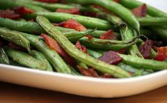 Stock Photo of green beans