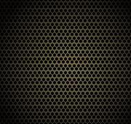 Gold honeycomb background Stock Illustration