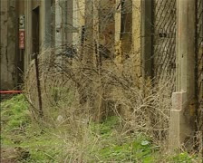 Buffer Zone, green line, Nicosia Cyprus Stock Footage