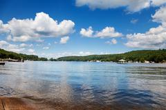 Lake winnipesaukee Stock Photos