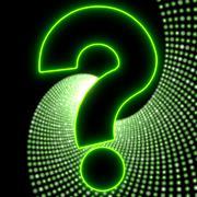disco ? light in glaring neon green - stock illustration