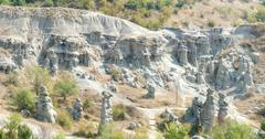 valley of stone dolls, macedonia, - stock photo