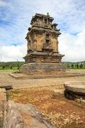 arjuna complex temple indonesia - stock photo