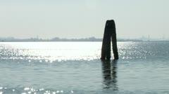 Venetian lagoon 06 Stock Footage