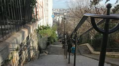 Monmartre. Stock Footage