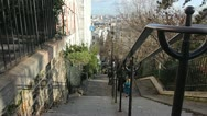 Stock Video Footage of Monmartre.