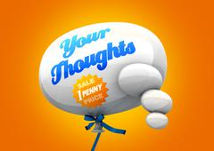 Penny for your thoughts Stock Illustration