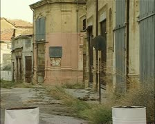 Buffer Zone, green line, Nicosia, Cyprus Stock Footage